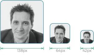 Gydeline avatar sizes