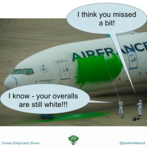 Greenwashing activism
