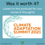 Climate Adaption Summit 2021