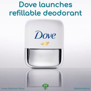 Dove refillable deodorant