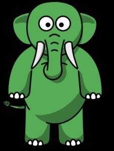Eco the Elephant standing