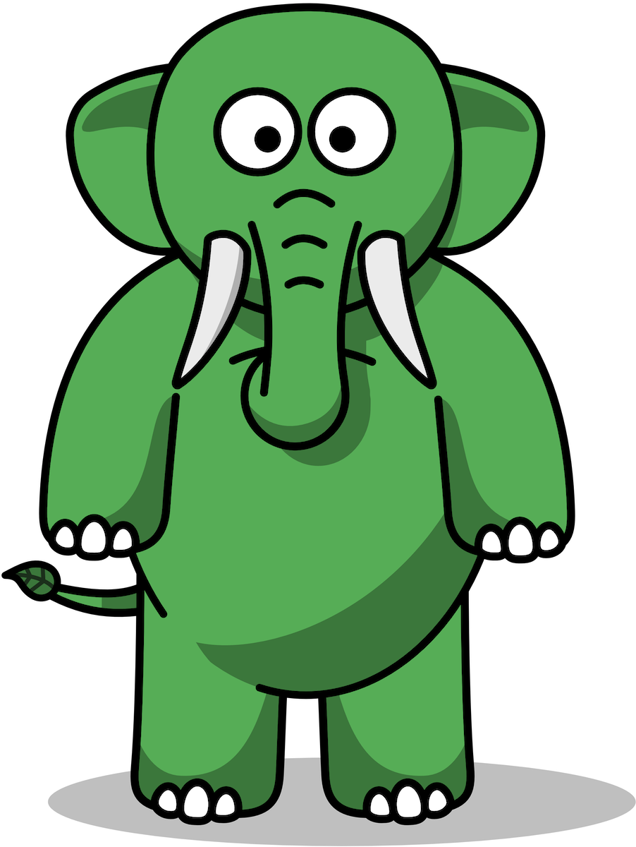Eco the Elephant standing