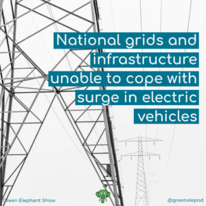 Electric vehicles cause problem for energy grids