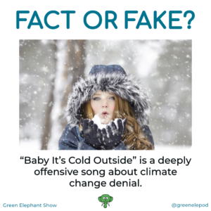 Twitter bot misinformation Baby it's cold