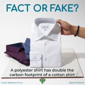 Carbon footprint of shirts
