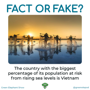 Vietnam at risk from sea level rise