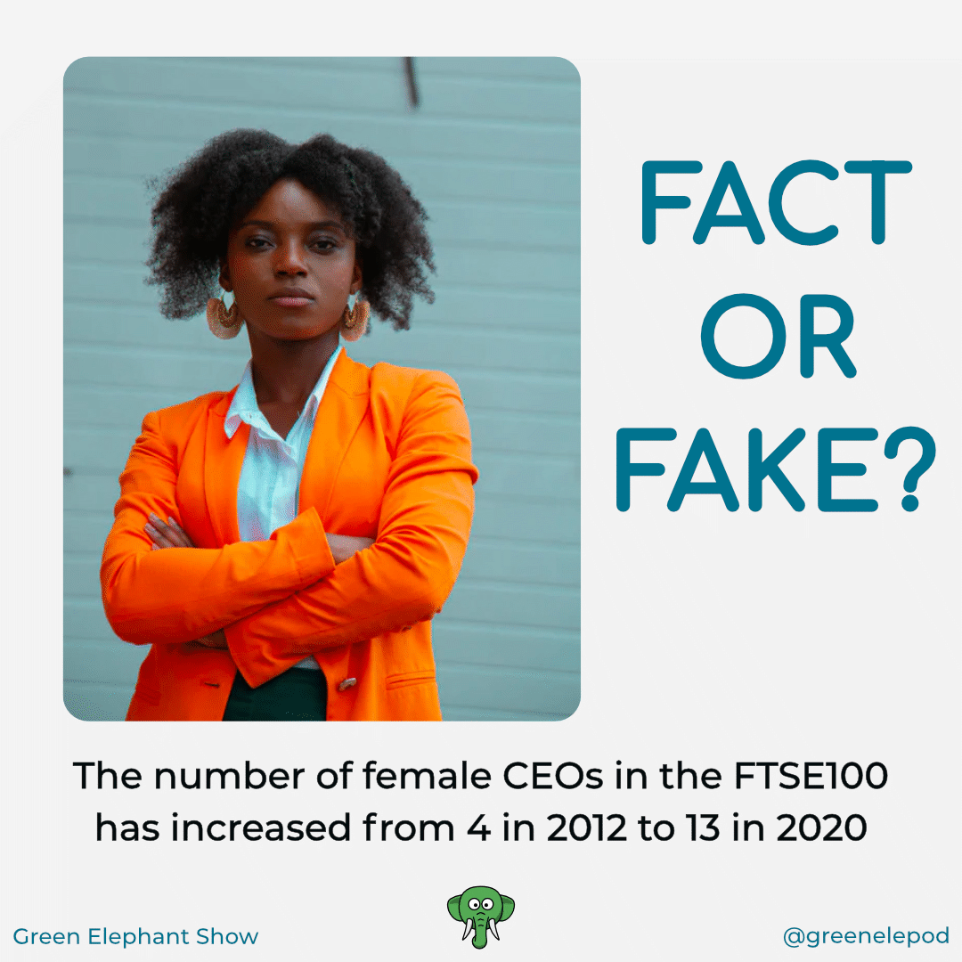 Number of female CEOs