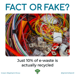 10% eWate recycled