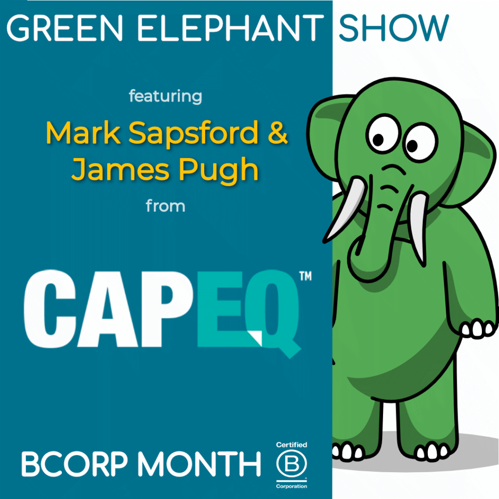 B Corp Month 2021 Interview - Mark Sapsford & James Pugh from CapEQ