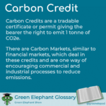 Carbon Credits defined