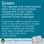 Green definition