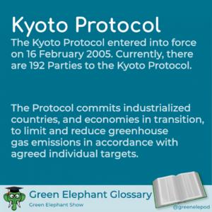 Kyoto Protocol defined