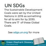 UNSDGs defined