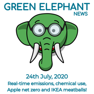 Green Elephant Sustainability News 24th July 2020
