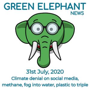 Green Elephant Sustainability News 31st July 2020