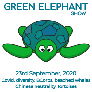 Green Elephant Show No 16 covering the latest sustainability news