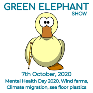 Green Elephant Show No 18 covering the latest sustainability news