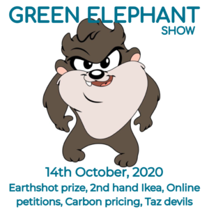 Green Elephant Show No 19 covering the latest sustainability news