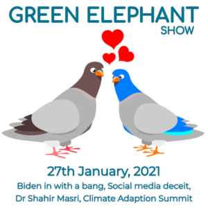 Green Elephant Show No 33 covering the latest sustainability news