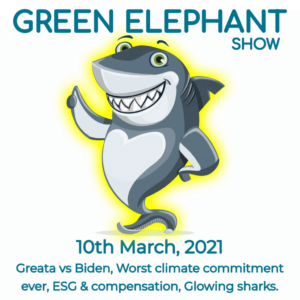 Green Elephant Show No 49 covering the latest sustainability news