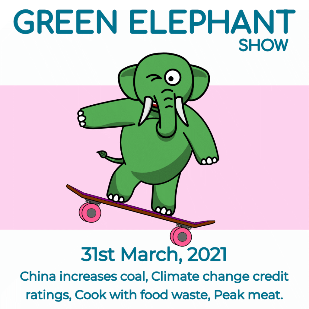 Green Elephant Show No 73 covering the latest sustainability news