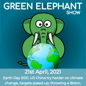 Green Elephant Show No 75 covering the latest sustainability news