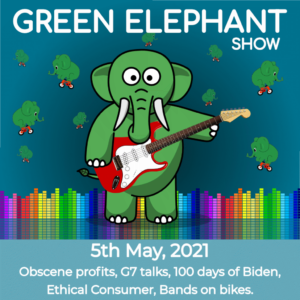 Green Elephant Show No 77 covering the latest sustainability news