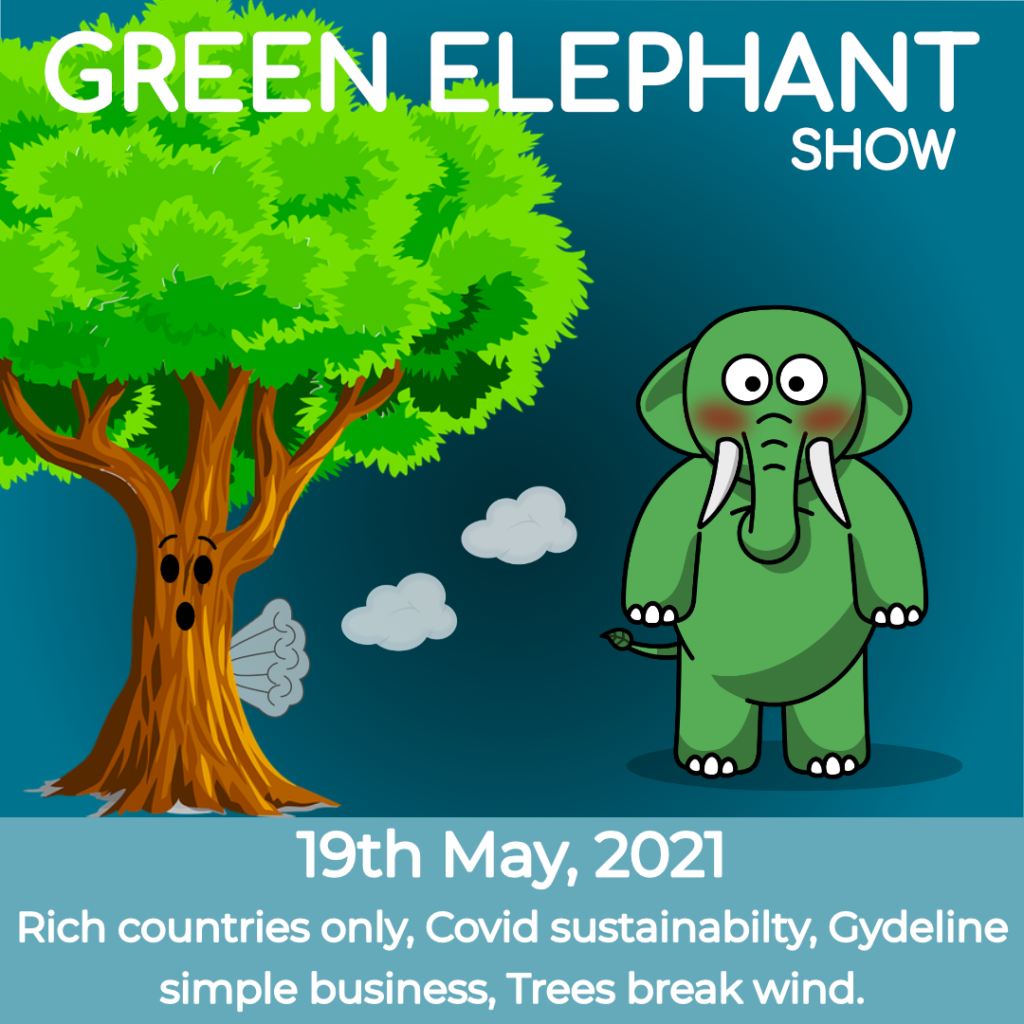 Green Elephant Show No 78 covering the latest sustainability news