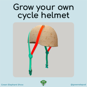Grow your own cycle helmet