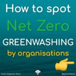 How to spot organisation Greenwashing