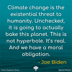 Joe Biden Climate Change Quote