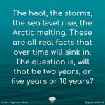 Sea level rise quote