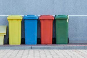 Supermarkets Recycling Bins