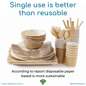 Single use is better then reusable