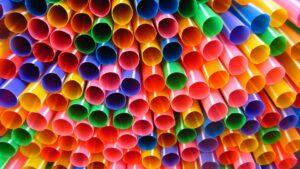 Supermarket Single Use Straws