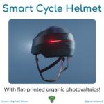 Smart cycle helmet