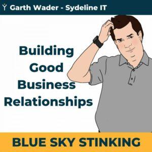 Building good business relationships