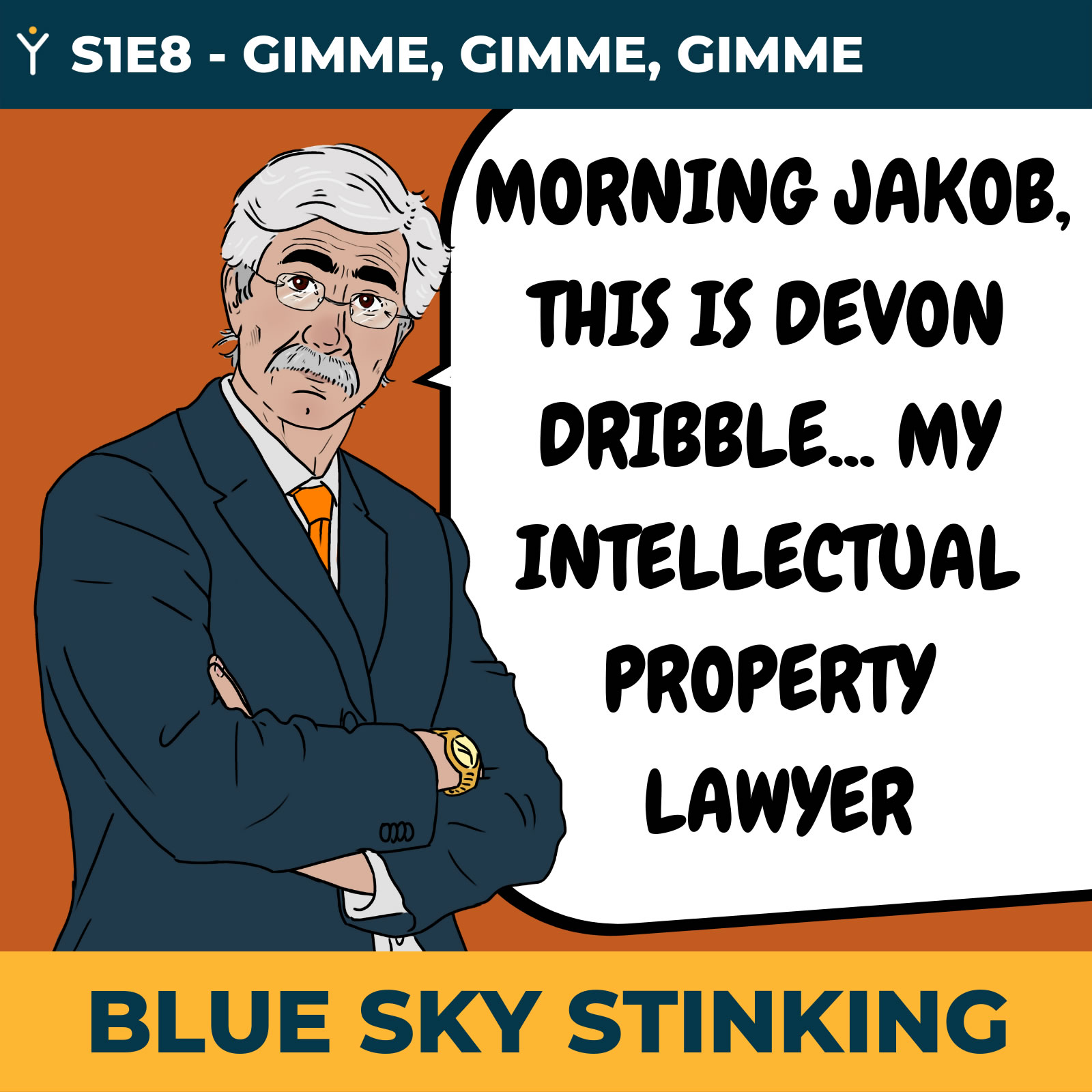 Blue Sky Stinking Episode 8 Intellectual Property Protection