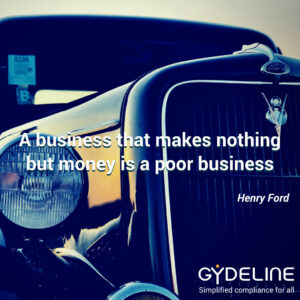 A business needs to make more than just money to be worthwhile